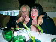 Tura and Siouxzan, yummy...