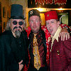 Will with his Midwest brethren, Son of Ghoul (from Cleveland!) and Rock n Roll Ray (from Minnesota)10/13/05